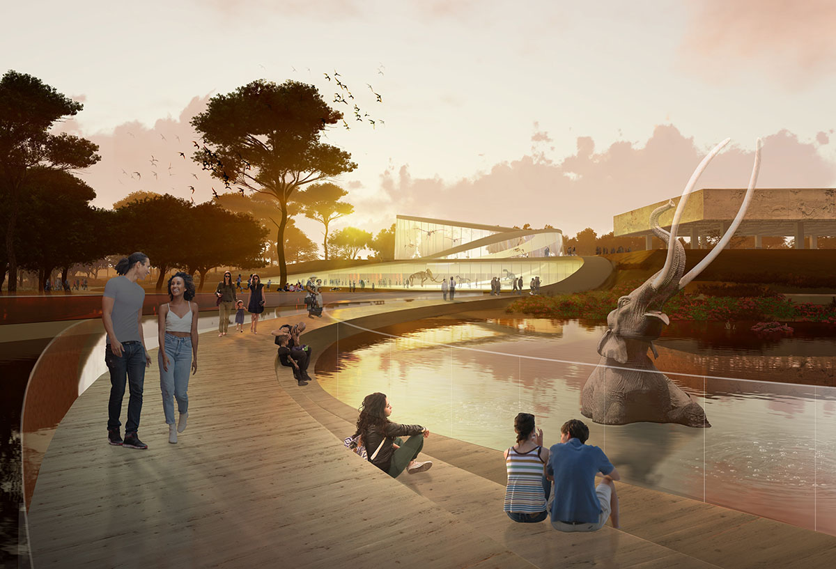 New York-based architecture, landscape and urbanism practice Weiss/Manfredi has been selected to lead the master planning team to reimagine the uniquely important and world renowned La Brea Tar Pits