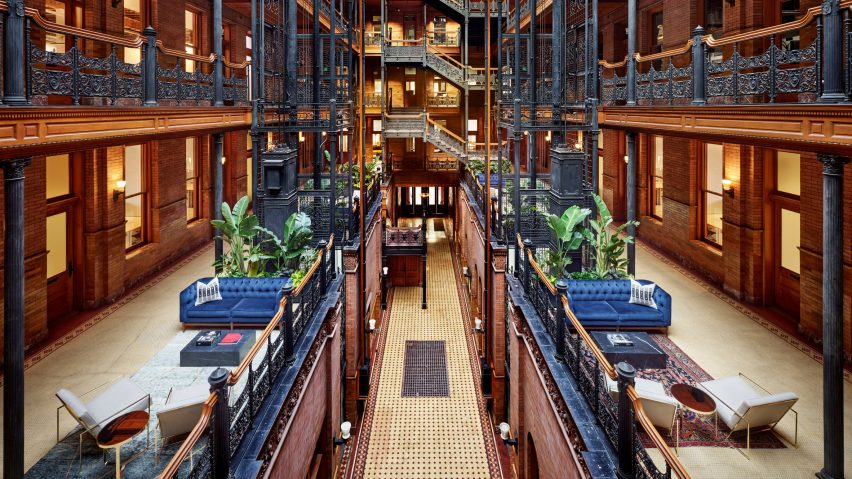 NeueHouse opens Los Angeles co-working space inside landmarked Bradbury Building